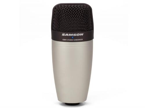 Microfono Condenser para Estudio Samson C01 con estuche de recgalo