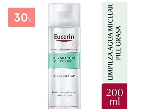 EUCERIN - Dermopure oil control agua micelar 200 ML | FarmaOnline