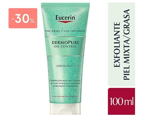 EUCERIN - Dermopure oil control exfoliante 100ML   FarmaOnline