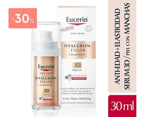 EUCERIN - HYALURON FILLER + ELASTICITY 3D SERUM 30ML | FarmaOnline