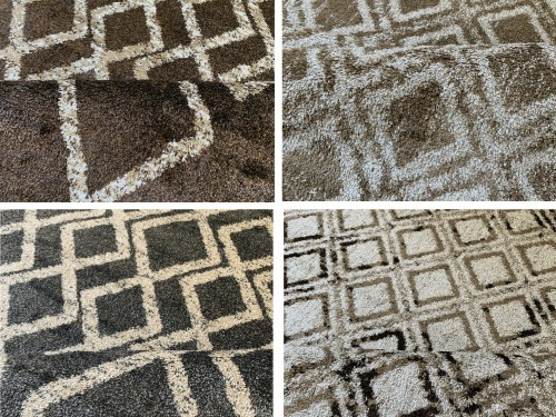 Alfombra Carpeta Tapete Moderna  pelo corto varias medidas