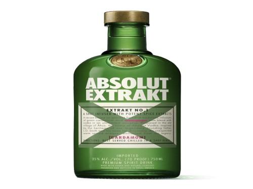 Absolut Extrakt Vodka De Suecia Con Cardamomo Botella 750ml