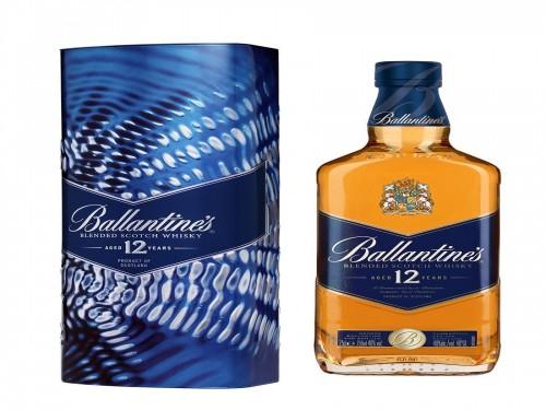 Ballantine's Finest Whisky Escocés Botella 1 Litro + Estuche