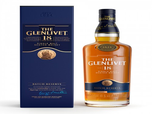 Whisky The Glenlivet 18 Años Escocia Botella 700 Ml
