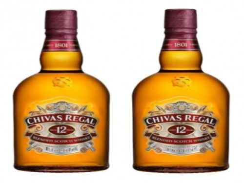 Combo 2 Chivas Regal 12 Años Whisky Escocés 1l + Estuche