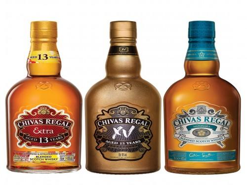 Combo Whisky Chivas Regal Extra Mizunara Xv Escoses X3 Bot.
