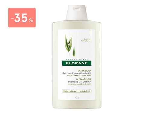 KLORANE - SHAMPOO LECHE DE AVENA 400 ML | FarmaOnline