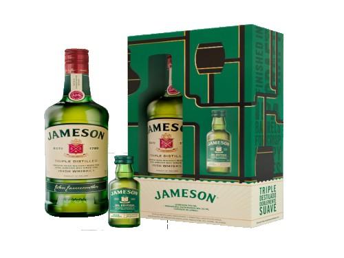 Whisky Jameson Irlandés Original 750 Ml + Miniatura Ipa