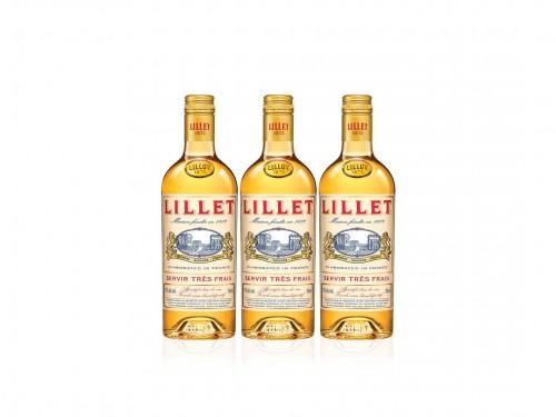 Vino Blanco Dulce Lillet Aperitivo Frances 3 Botellas 750 Ml