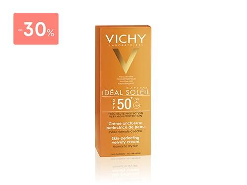 VICHY - IDEAL SOLEIL CREMA ROSTRO FPS 50  50ML | FarmaOnline