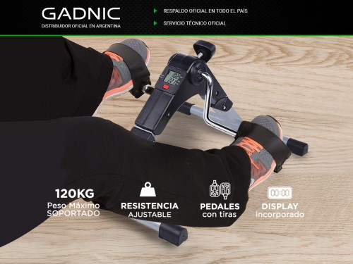 Mini Bicicleta Fija Pedalera GADNIC FITNES04