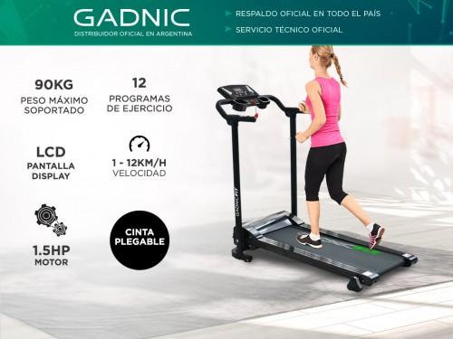 Cinta de Correr Gadnic C-02 12Km/h Plegable con Display 90kg