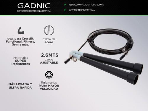 Soga De Saltar Gadnic Speed Rope Metalica