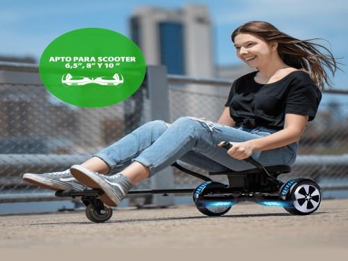 """Karting Gadnic Go Kart Para Scooter Balance de 6,5"""" 8"""" y 10"""""""
