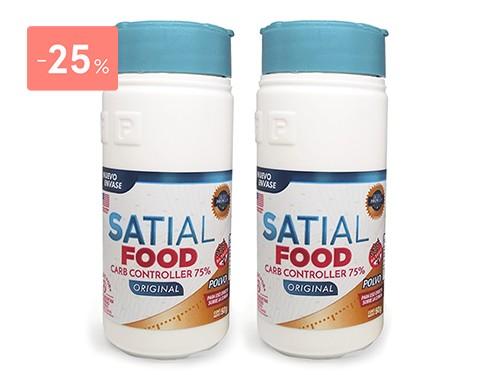 SATIAL - Combo Satial Food Polvo Bloquea Carbohidratos | FarmaOnline