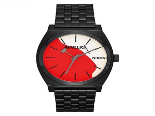 Reloj Analógico Time Teller Black/kill Em All METALLICA - ED. LIMITADA
