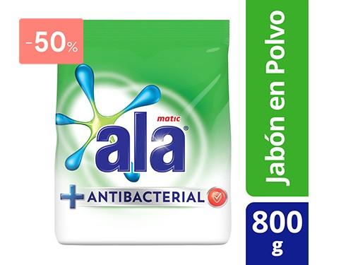 ALA - JABON EN POLVO ANTIBACTERIAL 800 GR | FarmaOnline