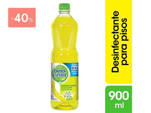 DETTOL - ESPADOL DILUIBLE MLTISUPERFICIE LIMON 900 ML | FarmaOnline