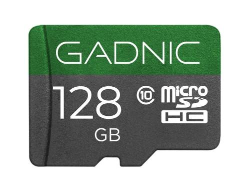 Memoria Micro SD Gadnic 128gb Clase 10 + Adaptador
