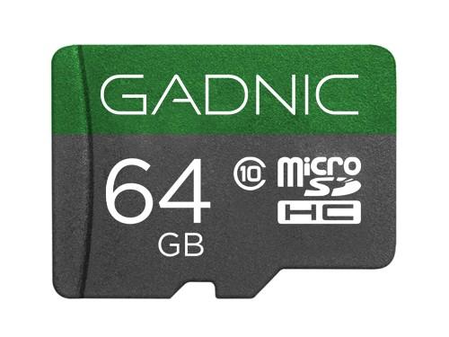 Memoria Micro SD Gadnic 64gb Clase 10 + Adaptador