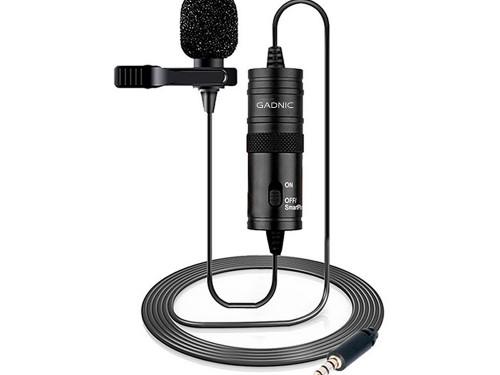 Microfono Condensador Gadnic Omnidireccional
