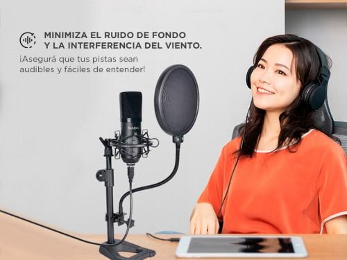 Kit Microfono Condenser Profesional Gamer Stream