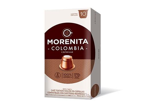 Cafe En Capsulas La Morenita Espresso Colombia 10 Capsulas