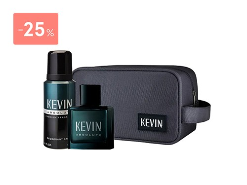 KEVIN - NECESER ABSOLUTE (EDT 60 ML + AER 150 ML) FOR MEN