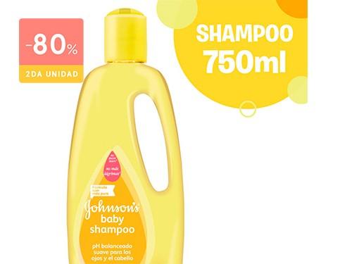 JOHNSONS BABY - Shampoo ph balanceado 750 ML | FarmaOnline