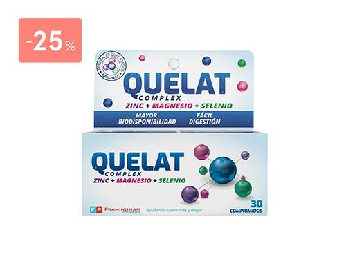 QUELAT - Quelat 30 comprimidos | FarmaOnline