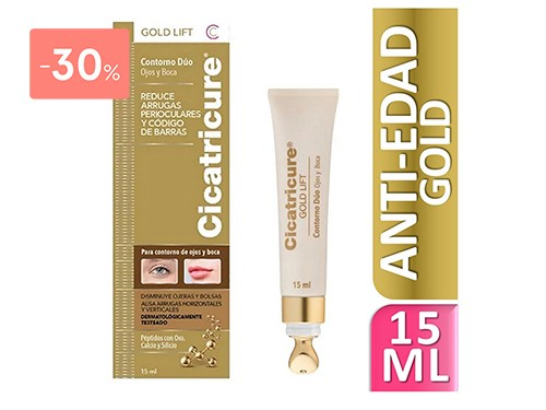 CICATRICURE - CONTORNO DUO GOLD LIFT   FarmaOnline