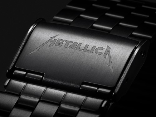 Reloj Analógico Time Teller Black/ride METALLICA - ED. LIMITADA