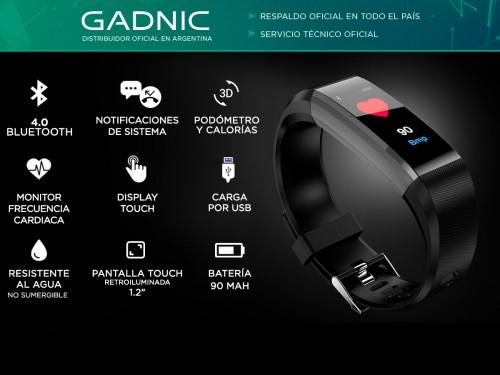 Smartband Bluetooth Gadnic R3 Watch Band Monitor Deportes