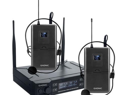 Microfono Inalámbrico Profesional GADNIC