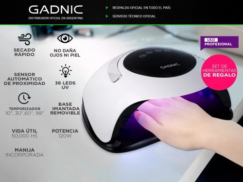 Cabina Para Uñas Gadnic BQ5 Pro UV Led 120w Uso