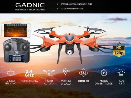 Drone Con Camara HD Gadnic Gps Vuelta A Casa despegue automatico