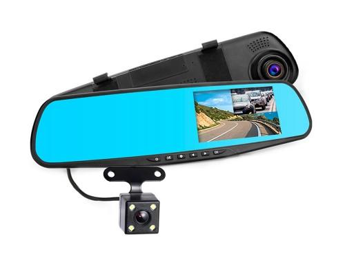 Cámara Espejo Retrovisor 1080P Con Camara