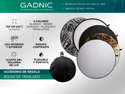 Pantalla Reflectora Gadnic 5en1 Fotografia