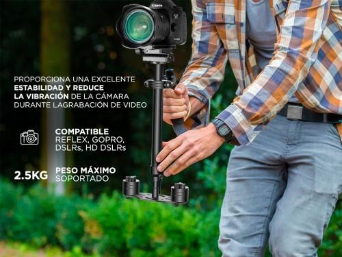 Estabilizador Gadnic S60 Steadycam Profesional Para Cámaras Barra