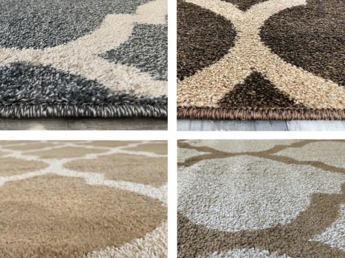 Alfombra Carpeta Moderna Tapet Pelo corto Tono cálido Varias medidas