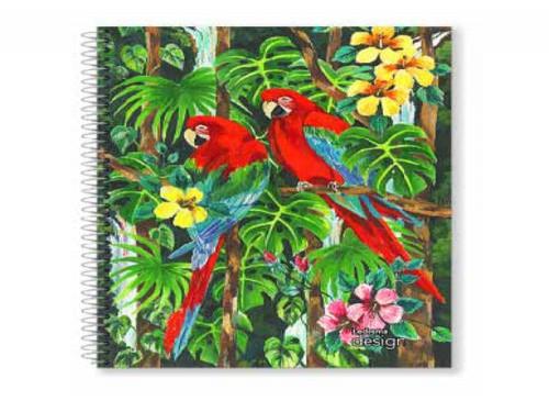 Cuaderno con espiral Ledesma Design A4 T/ semi rígida 84 hjs. Rayado