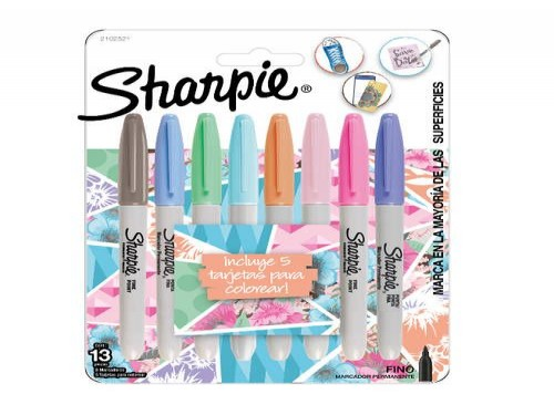 Sharpie Pastel Blister x8