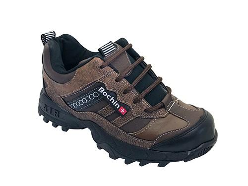 Zapatos de hombre con puntera Eskalator negro Bochin