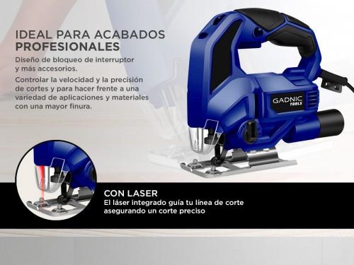 Caladora Gadnic C65M7 Laser Regulable