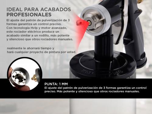 Pistola de Pintura Gadnic PG2000 650w Compresor