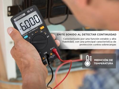Multimetro Digital Gadnic MT-980 Profesional