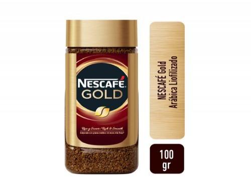Café Instantáneo Nescafe Gold X 100 Gr