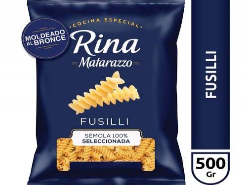 Fideos Rina Matarazzo Fusilli X 500 Gr
