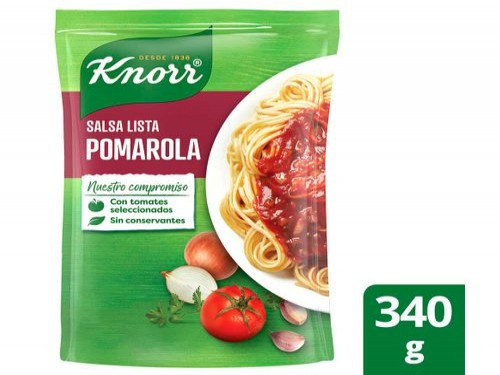 Salsa Knorr Pomarola X 340 Gr
