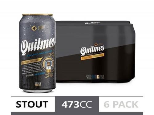 Cerveza Quilmes Stout 473 Cc Six Pack